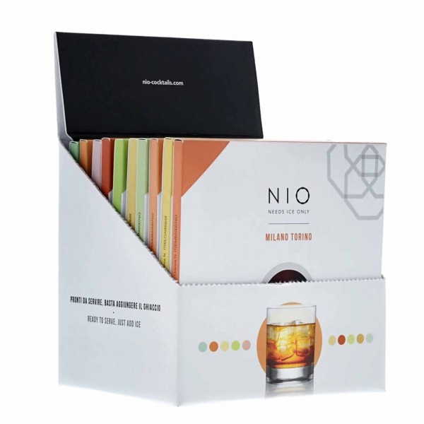 NIO Cocktail Box mit 10 Drinks