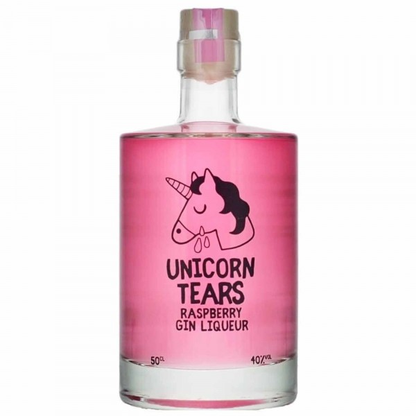Unicorn Tears Raspberry Gin Liqueur 50cl