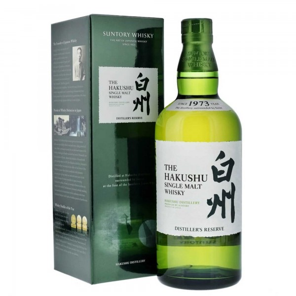 Suntory Hakushu Single Malt Whisky Distiller's Reserve 70cl
