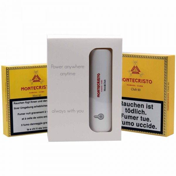 Combo Aktion Montecristo Club + Mini + Powerbank