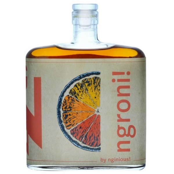 ngroni! Gin by nginious! 50cl