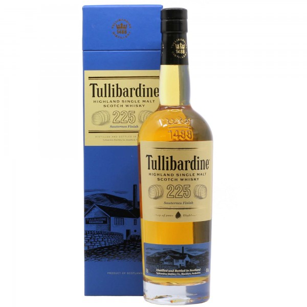 Tullibardine Whisky 225 Sauternes Finish 70cl