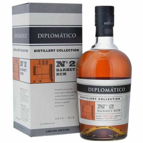Diplomatico Distillery Collection No 2 Barbet Still 70cl
