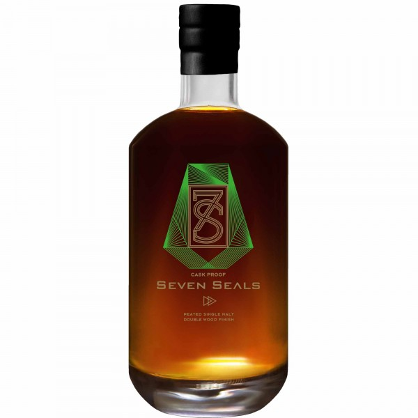 Seven Seals Peated Double Wood Finish Cask Proof 50cl