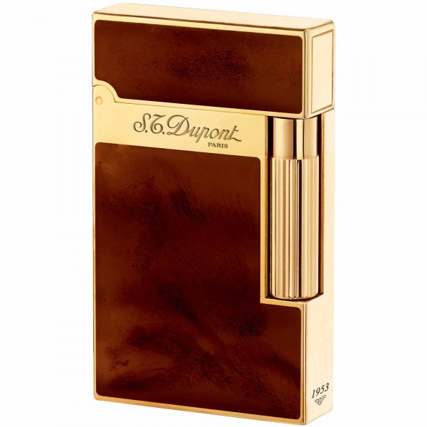 S.T. Dupont Ligne 2 Atelier Dark Brown Natural Lacquer (016126)