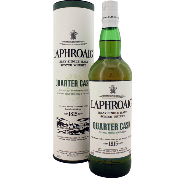 Laphroaig Quarter Cask Whisky 70cl