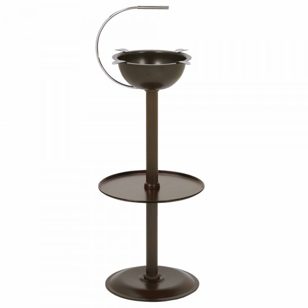 Stinky Ashtray Standaschenbecher Chocolate Brown (CA-ST-FL-BR)