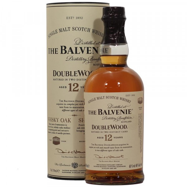 The Balvenie double Wood aged 12yr 70cl