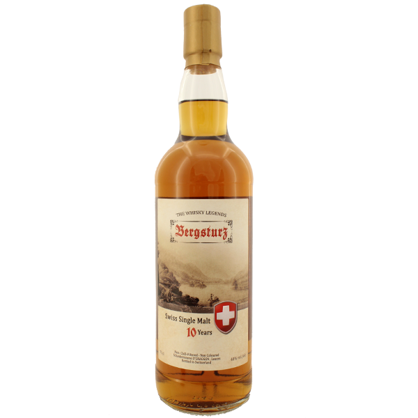 Bergsturz Swiss Single Malt Whisky 10yr 70cl