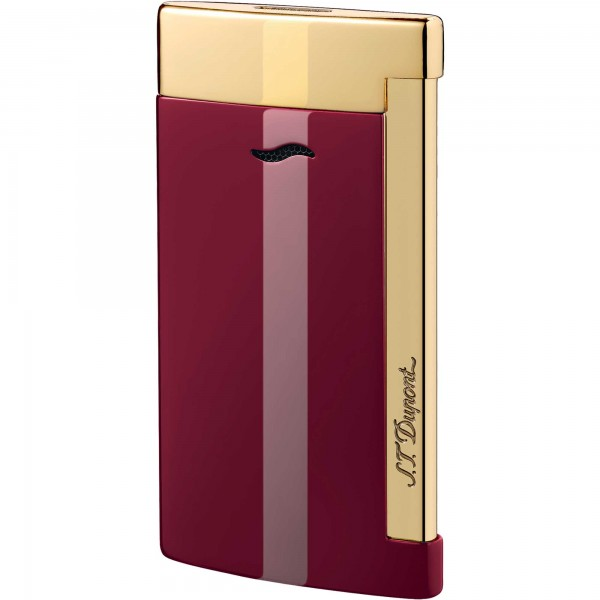 S.T. Dupont Slim 7 Red Lotus & Golden Finishes
